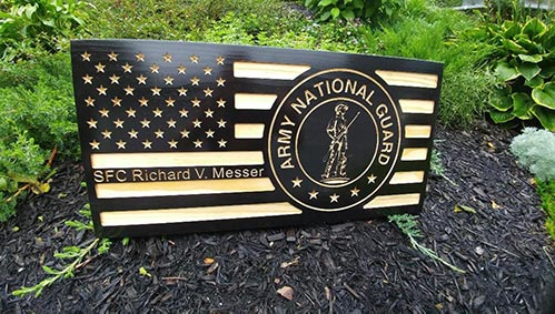 Military Retirement Signs