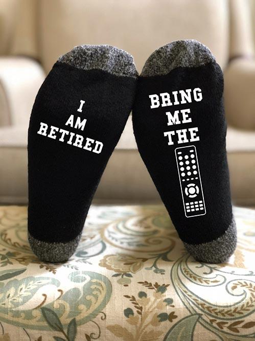 Clever Retirement Socks