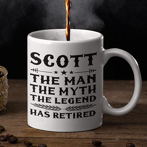 Fun Retirement Gift for Him