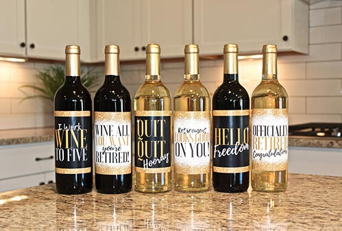 Wine Labels She Will Love
