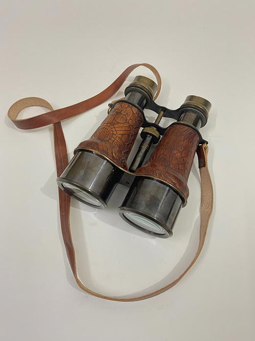 Leather Designed Binoculars