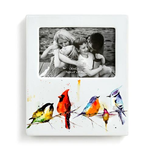 Watercolor Bird Picture Frame