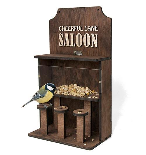 Cheerful Lane Saloon Birdfeeder