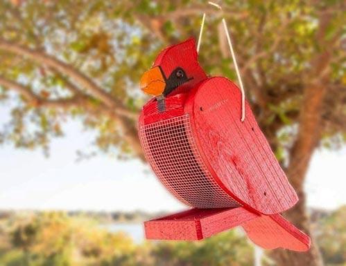 Look-Alike Bird Feeder