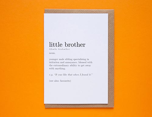 Best Birthday Cards for Brothers