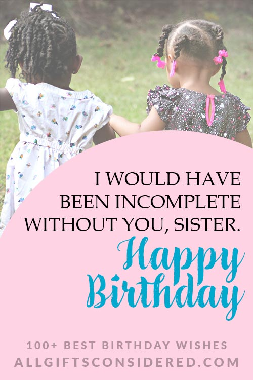 Birthday Quotes for Sisters