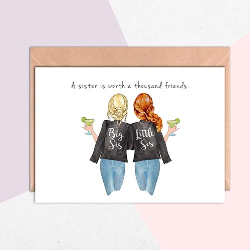 Best Birthday Cards for Sisters