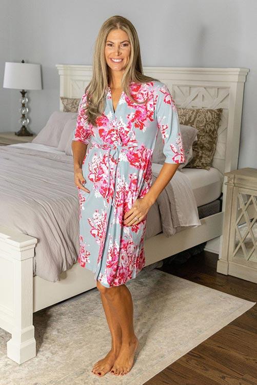 Flower Mastectomy Robe