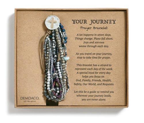 Breast Cancer Prayer Bracelet