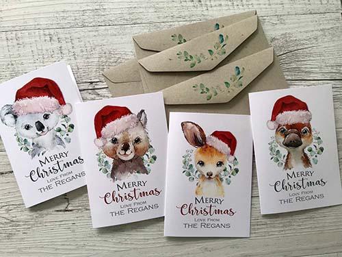 Custom Christmas Cards for Kids
