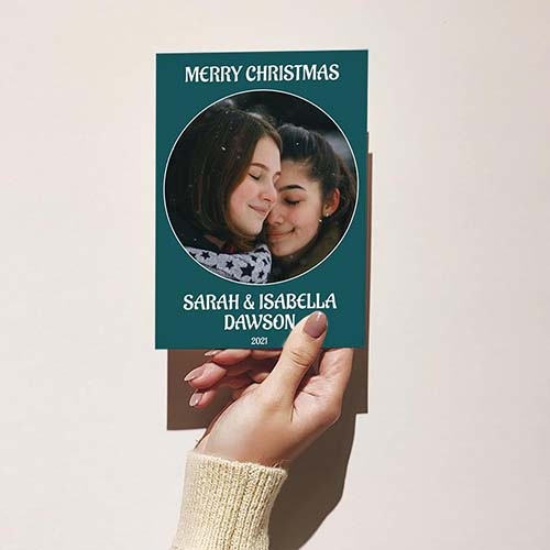 Best Christmas Cards from Couples