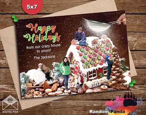 Silly Photo Christmas Card