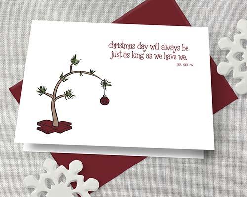 Doctor Seuss Christmas Card