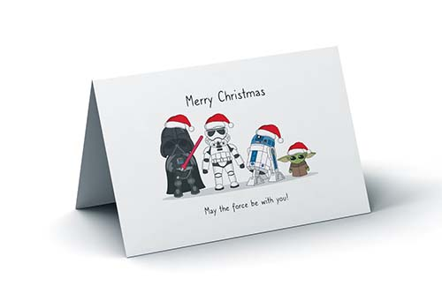 May the Force Be with You This Christmas!