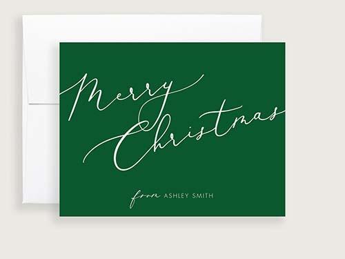 Best Minimalistic Christmas Card