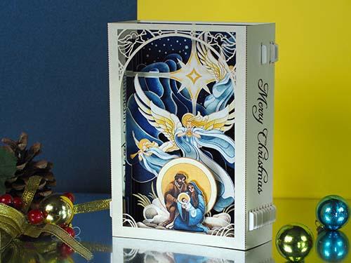 Pop Up Nativity Scene Card