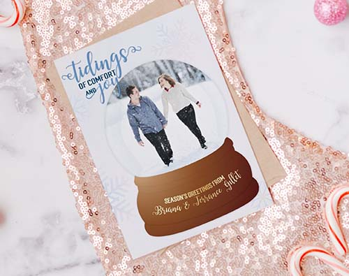 Tidings of Comfort Holiday Card