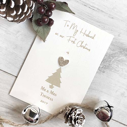 Christmas Cards for Husbands