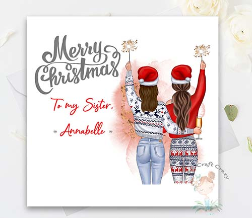 Christmas Cards for Sisters
