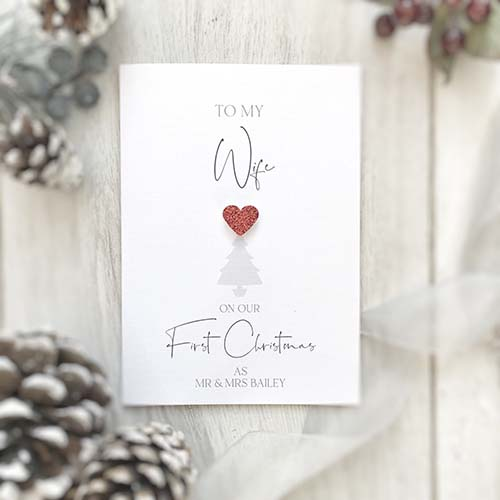 Christmas Cards for Wives