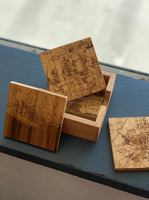 Wooden Personalized Coasters