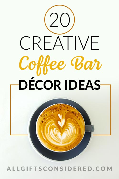 20 Amazing Coffee Decoration Ideas