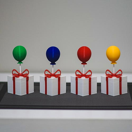 Animal Crossing Present Balloons