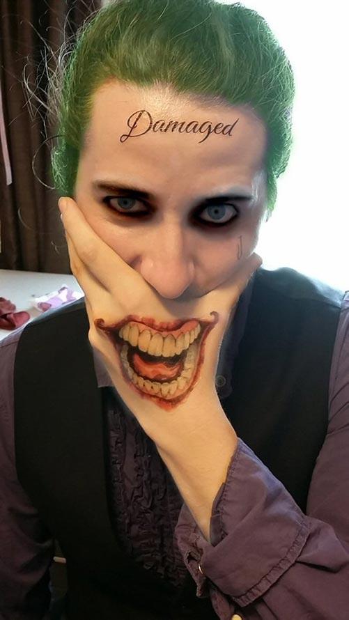 Replica Tattoos for the Joker