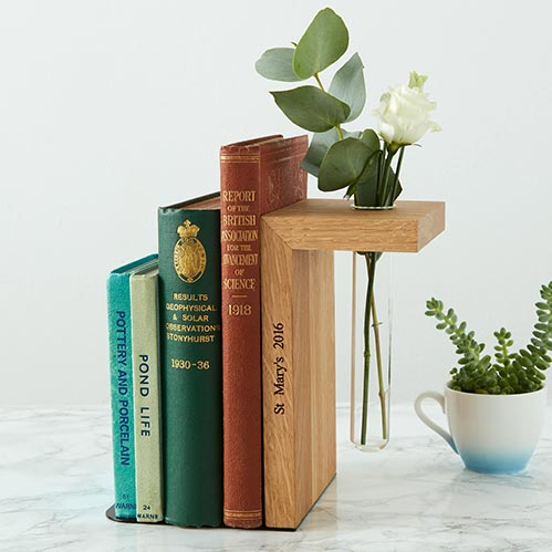 Personalized Book Ends