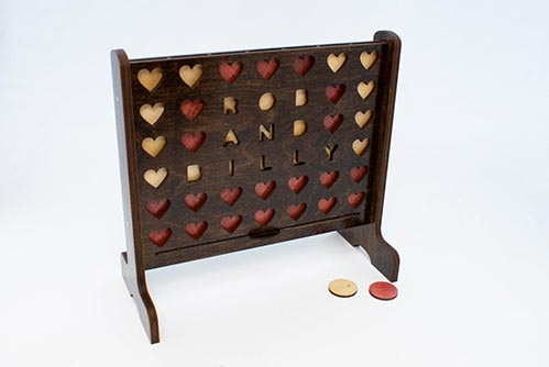 Personalized Connect Four Games