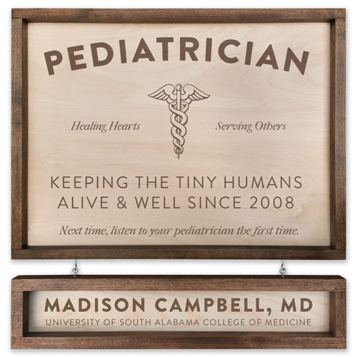 Best Personalized Pediatrician Signs