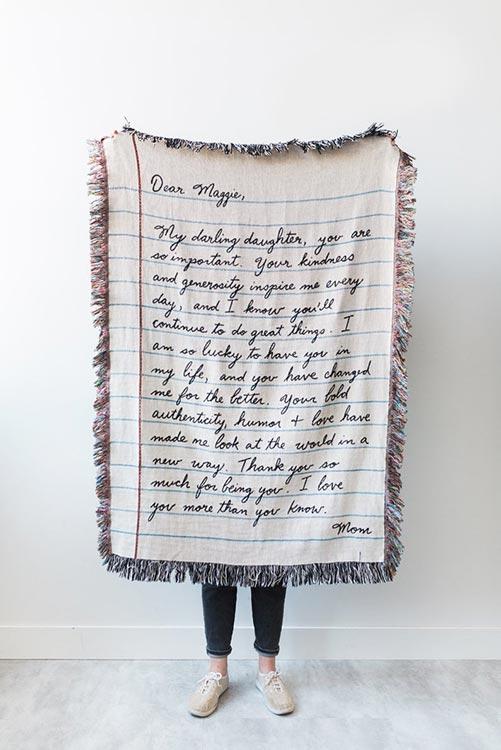 Big- Love Letter Blanket