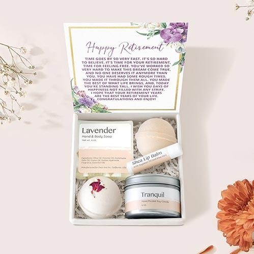 Retirement Spa Gift Box