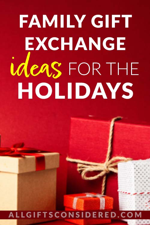 List of Gift Exchange Games