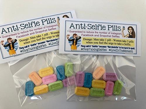 Anti-Selfie Pills