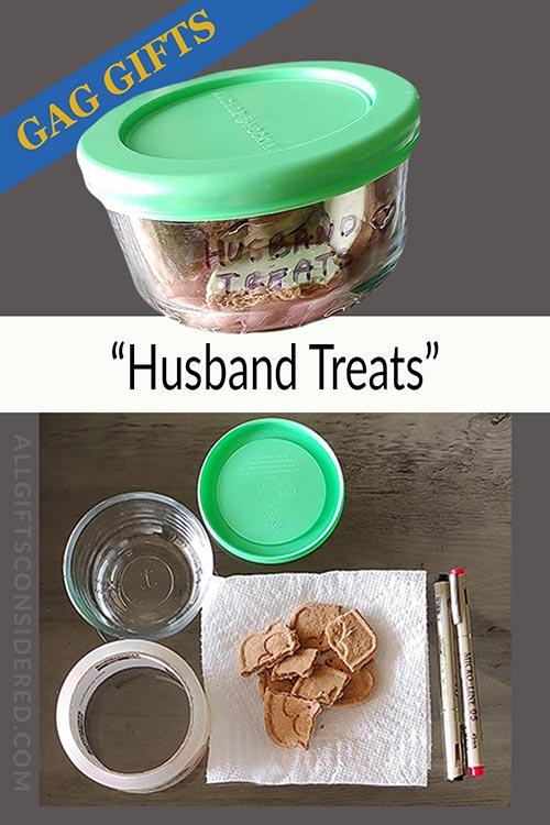 Husband Treats- Funny Gifts for Husbands