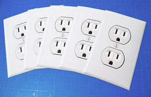 Fake Outlet Stickers