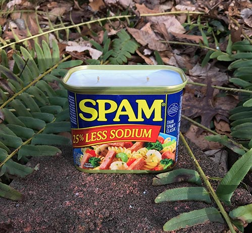 Spam Scented Candle