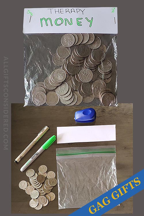 Therapy Money- Gag Gift