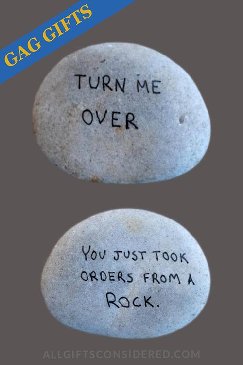 You Took Orders from a Rock