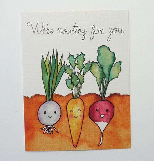 We're Rooting For You: Encouraging Get Well Soon Cards