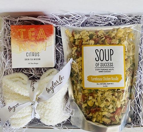 Tea and Soup Box