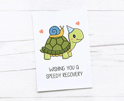 Get Well Soon Cards: Speedy Recovery