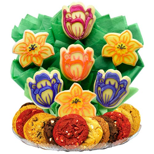 Blooming Cookie Bouquet