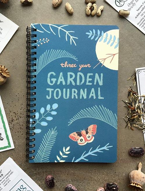 Three Year Gardening Journal