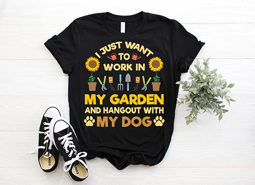 I Just Want to Garden Shirt
