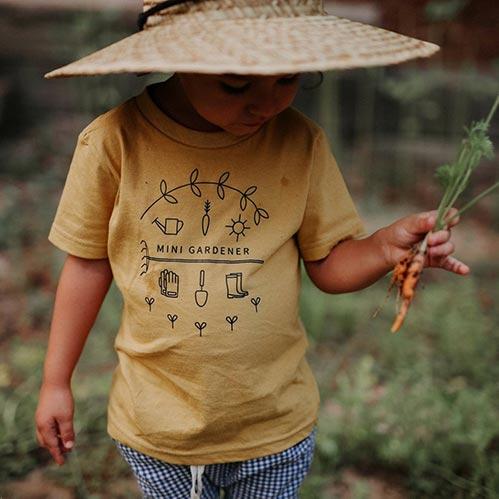 Gardening Shirts for Kids