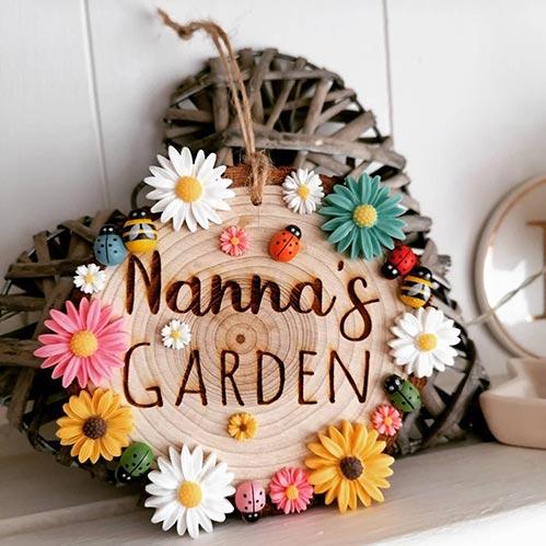 Nanna's Garden Sign