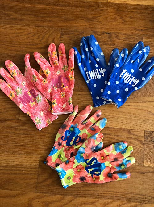 Colorful Personalized Gloves