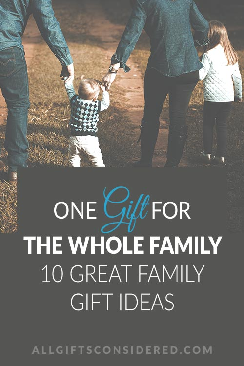 Family Friendly Gift Guide